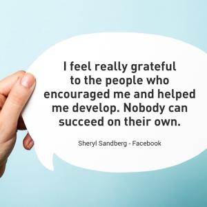 sheryl sandberg - facebook female motivational quote